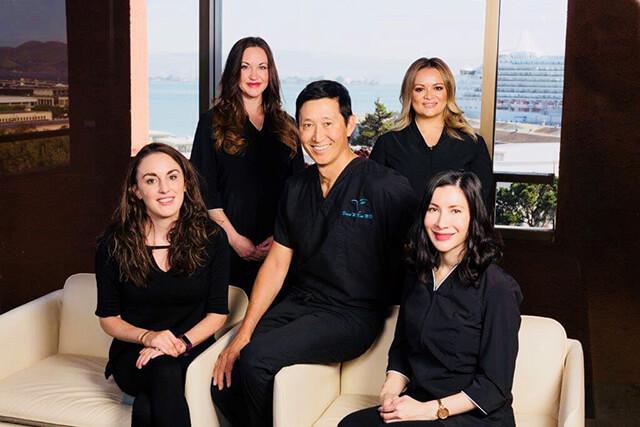 plastic surgeon Dr. David Kim & staff